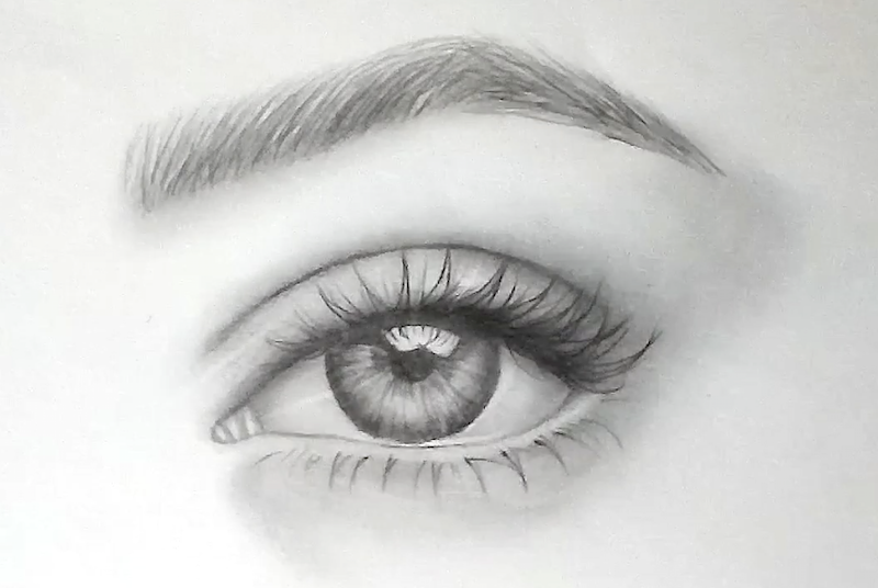 How to Draw Eyebrows - Step by Step Tutorial for realistic ...